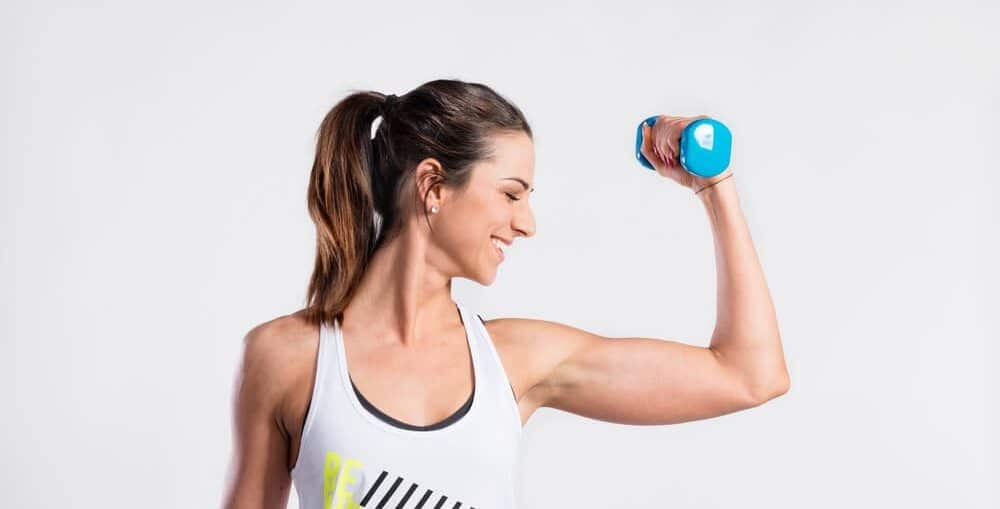 Оформете мускулите на ръцете