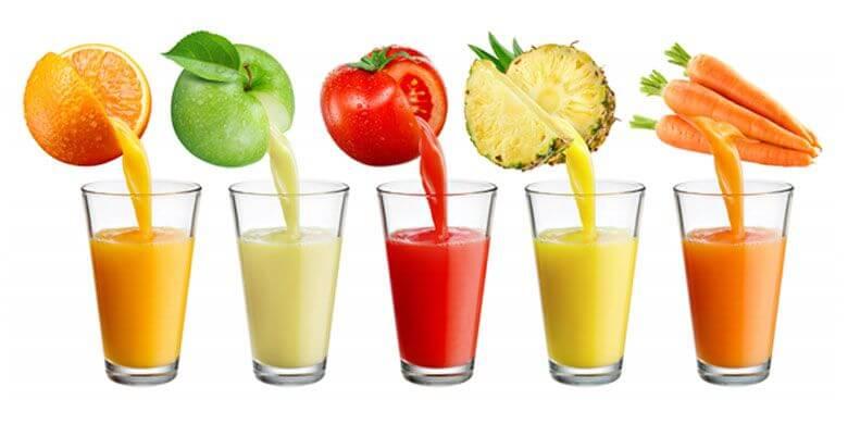 Плодовите сокове за всеки ден