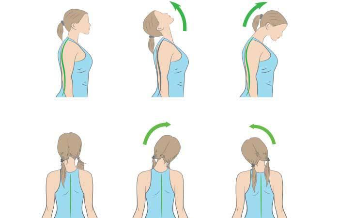 Упражнения за шията