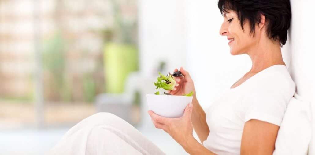 на диетата за жената над 50 години